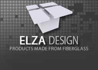 Elza Design - Products made from fiberglass